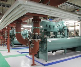 Dubai World Trade Center Chiller Plant Retrofit 2013