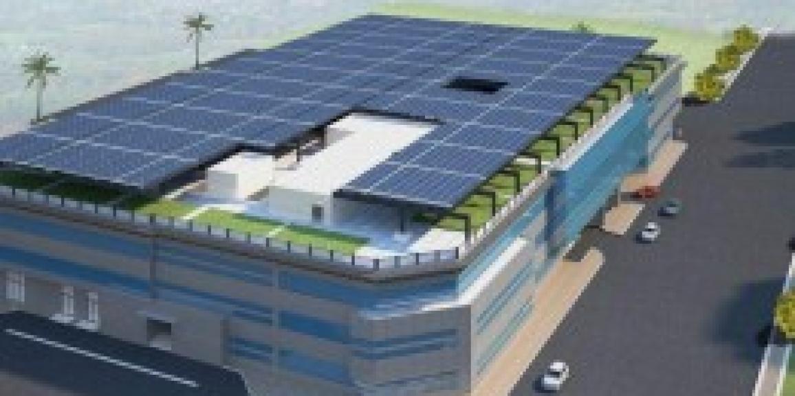 LEED Certified Sustainable Building for DEWA at Al Quoz, Dubai, United Arab Emirates