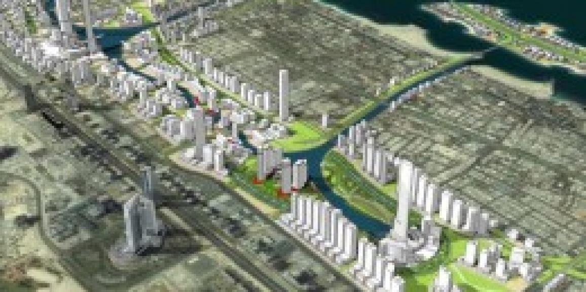 Jumeirah Garden City Development Dubai, United Arab Emirates