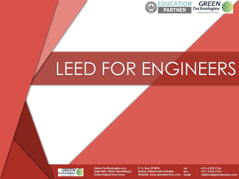 LEED for Engineers