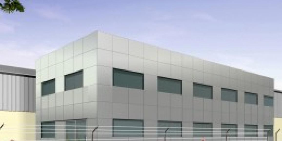 Jehan Green Walls Office Building Hamriyah Free Zone, Sharjah, United Arab Emirates