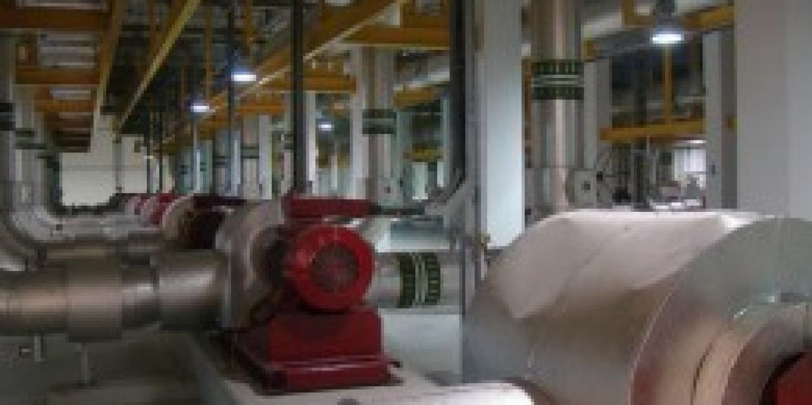 The Emicool District Cooling Plant 7 At Motor City, Dubai, United Arab Emirates